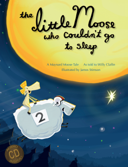 The Little Moose Who Couldn't Go to Sleep cover