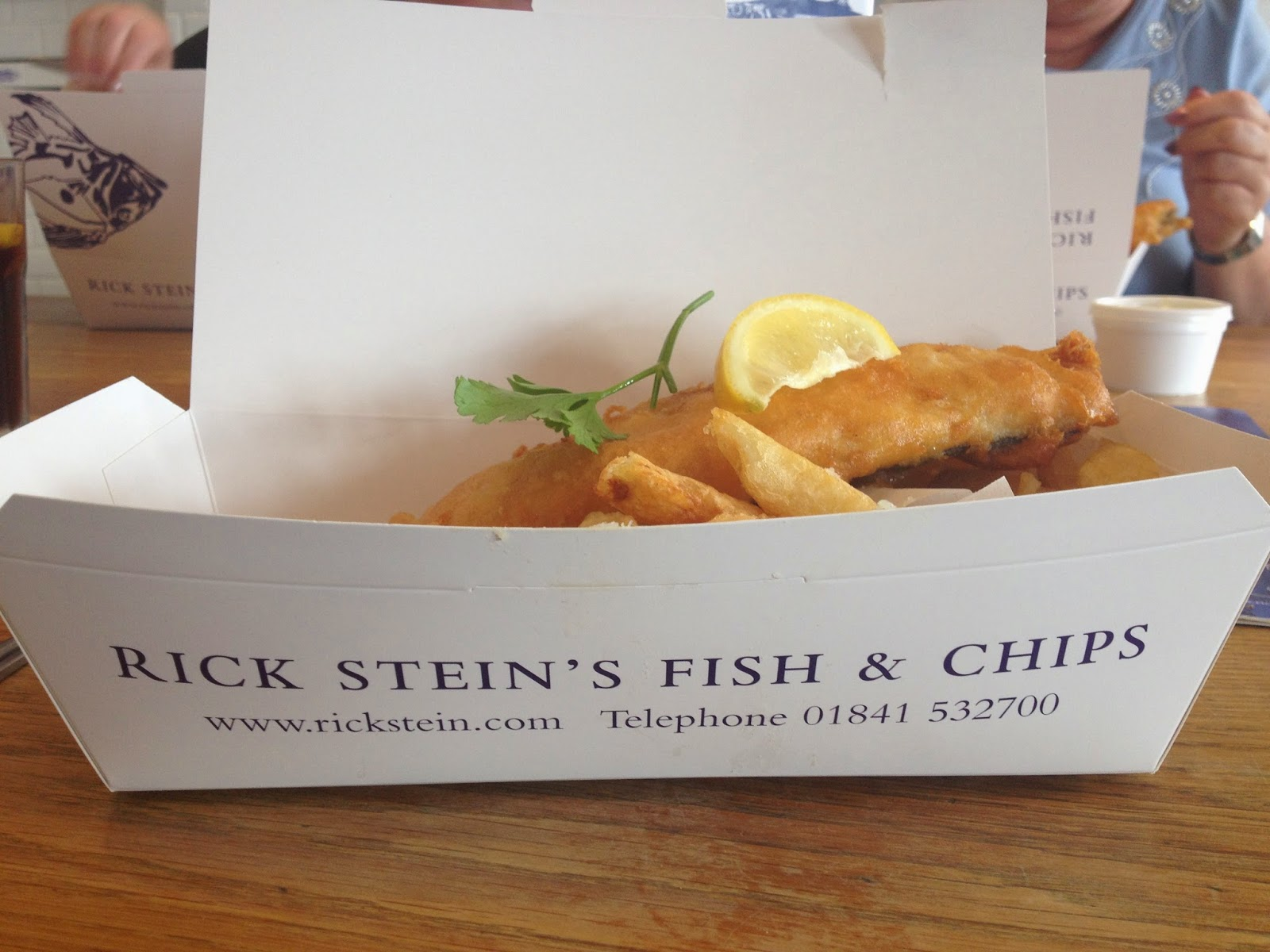 Breakfast at caroline 39 s mug of the month padstow rick for Rick s fish and pet