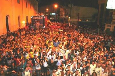 Juventude Missionária participa da 29ª Caminhada da Ressurreição na Diocese de São Miguel Paulista (SP)