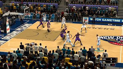 NBA 2K13 New Orleans Pelicans Court Update
