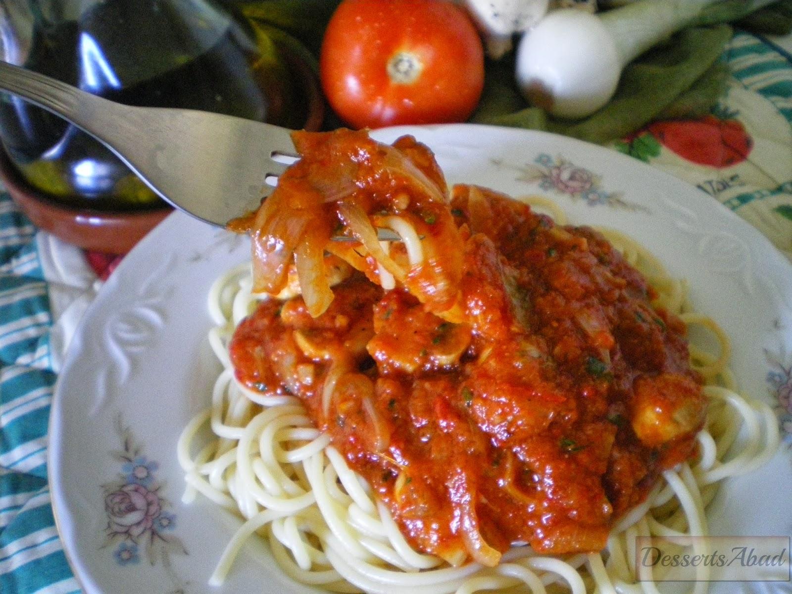 Spaghetti mare e monte