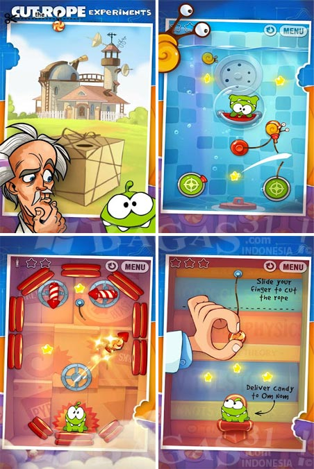 Cut the Rope: Experiments for Android 2