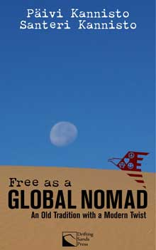 The book cover of Free as a Global Nomad