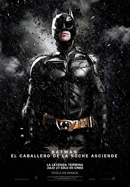Batman: El Caballero De La Noche Asciende [2012] [Dvdrip] [Latino]