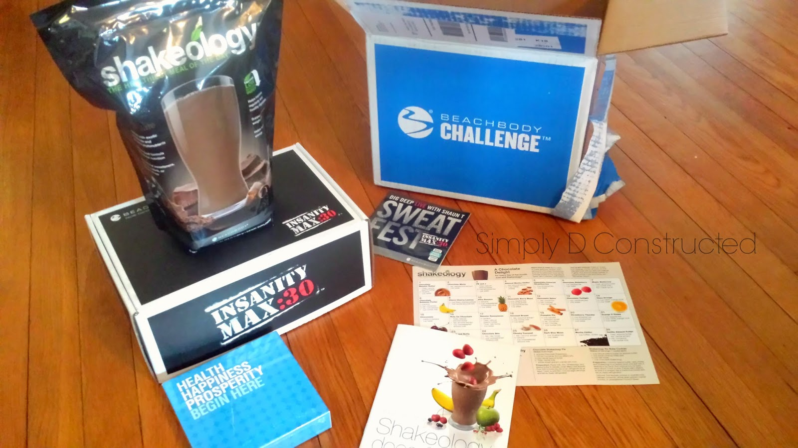 Insanity Max Thirty and Shakeology