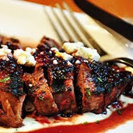 Cherry Balsamic Rib Eyes