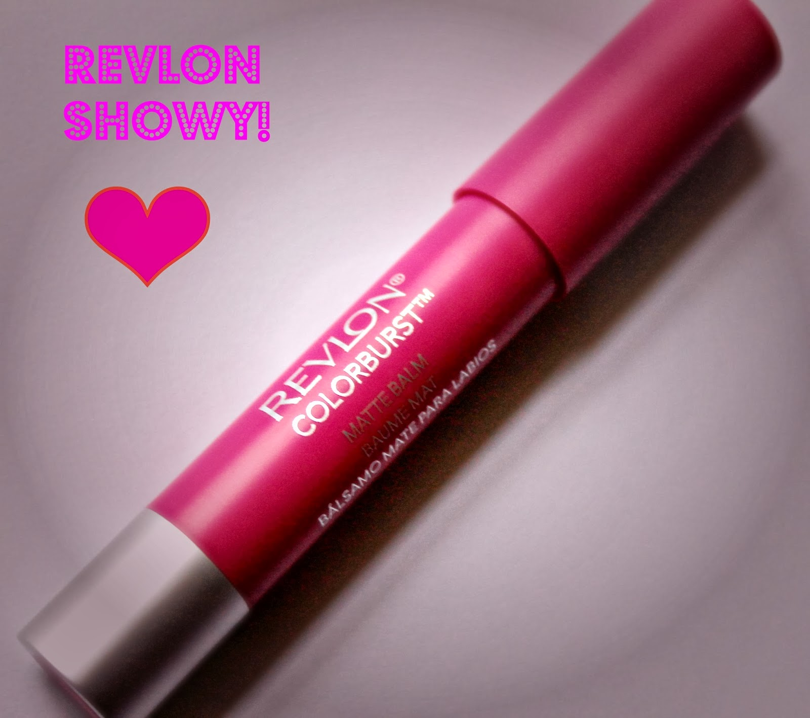 Revlon ColorBurst matte Balm Showy