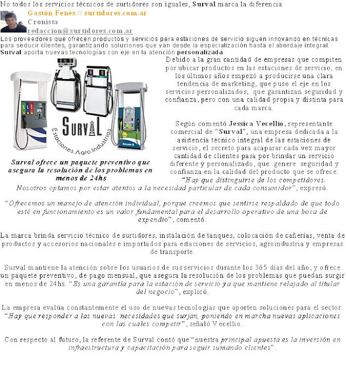 Nota Surtidores.com.ar