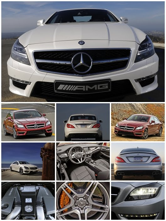 2012 Mercedes Benz CLS63 AMG Cars Wallpapers