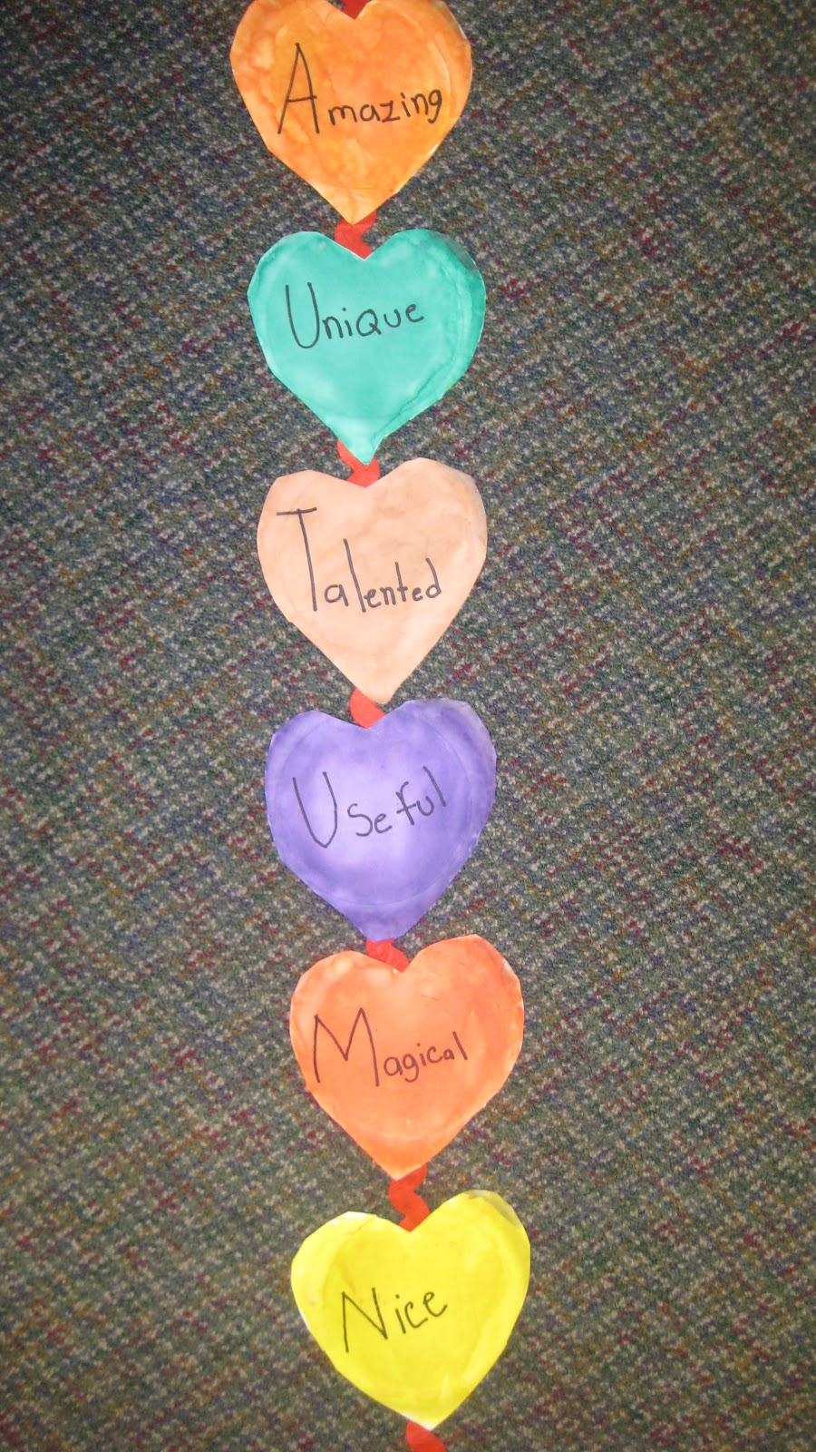 made in the shade in 2nd grade valentine 39 s day acrostic