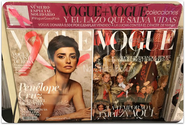 Regalos revistas septiembre 2015: Vogue