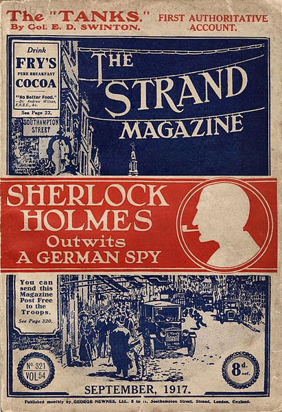 The Strand Magazine, vol. 65, no. 321, September 1917, Magazine Rights: Public domain, Courtesy: Toronto Public Library, Wikimedia Commons