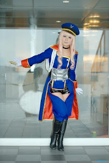 Macross Frontier Sheryl Nome Cosplay by Mika
