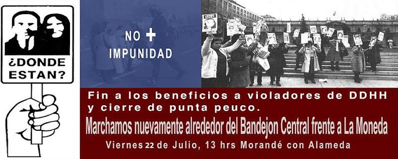 SANTIAGO:  MARCHA NO + IMPUNIDAD