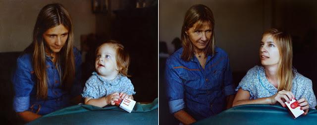De volta ao futuro - Mãe e filha, ates e depois - Gnvision