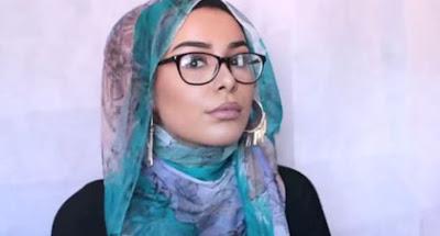 Tutorial Hijab Kombinasi Kacamata dan Anting Ala Habiba Da SIlva Selesai!