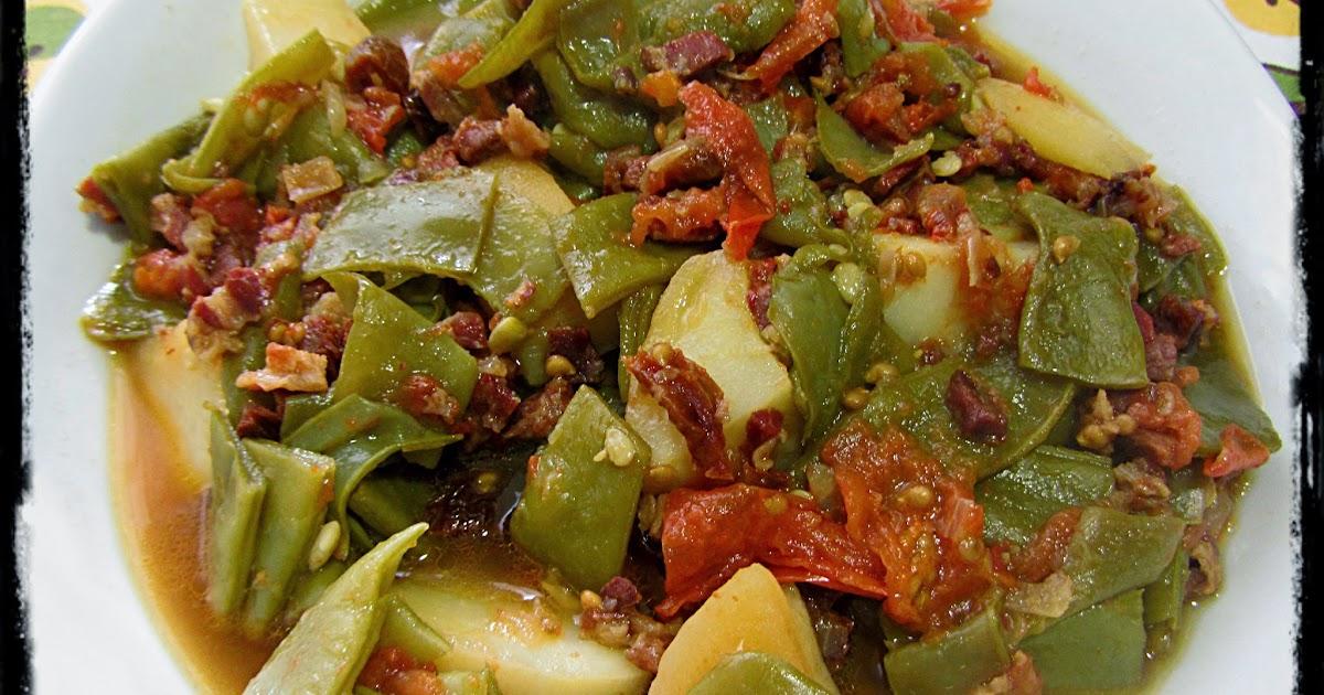 Jud as verdes con patatas y tomate en olla r pida - Patatas en olla rapida ...