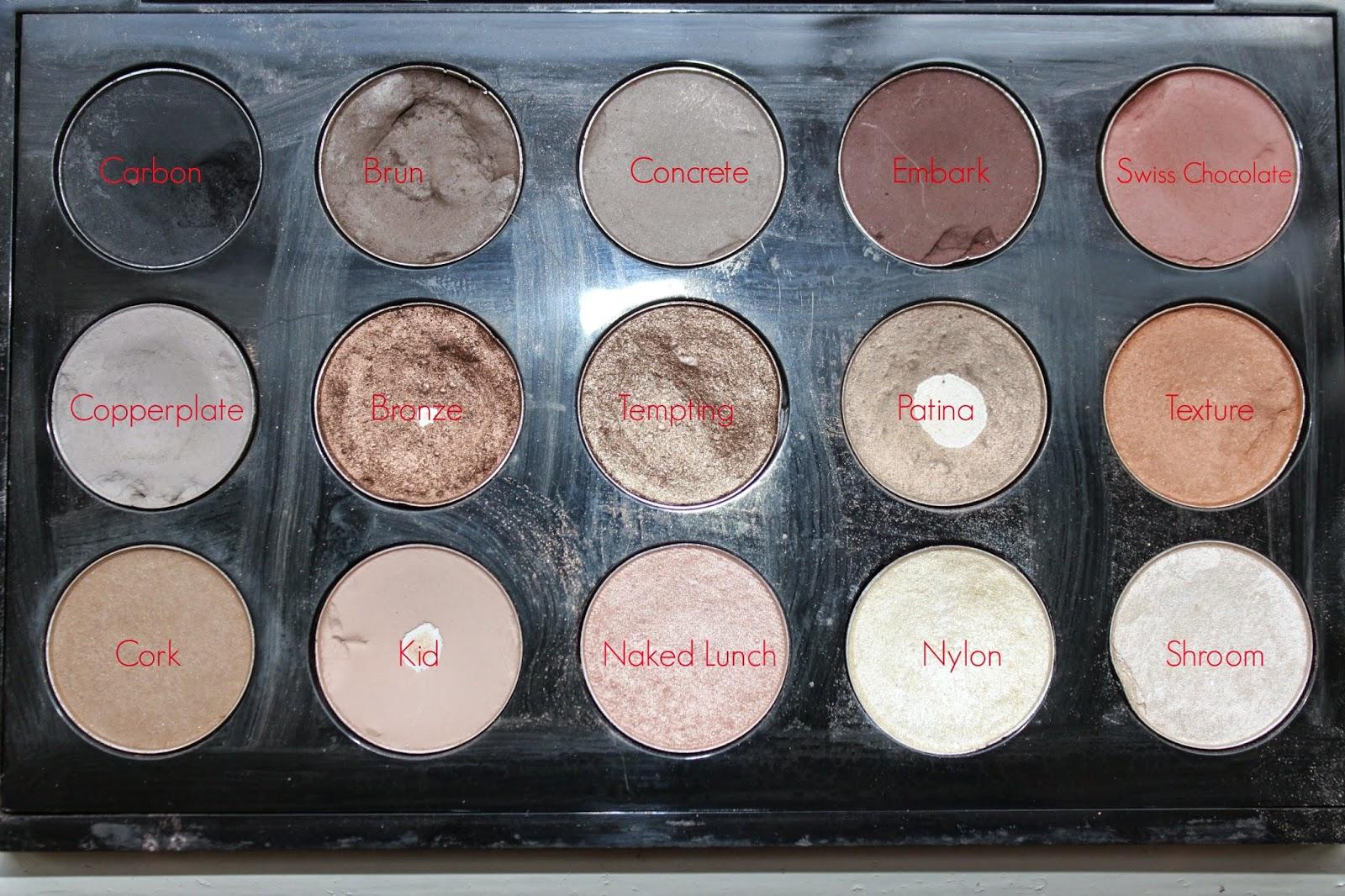 My Favourite Mac Eyeshadows
