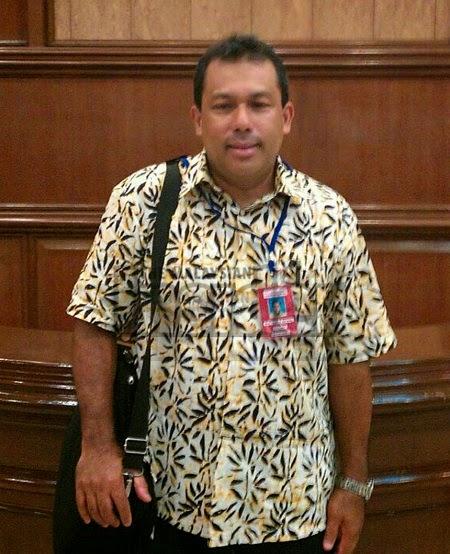 Wajah Mohamad Ghafar Abu Bakar, Ketua Pramugara MH17