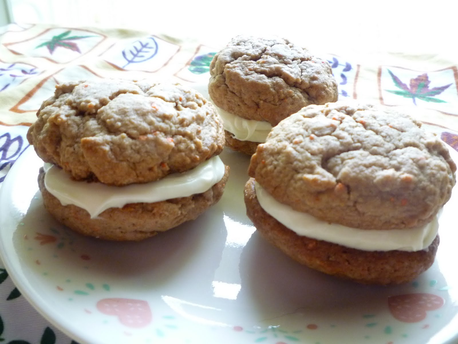 What's Baking in the Barbershop?!: Carrot Cake Whoopie Pies