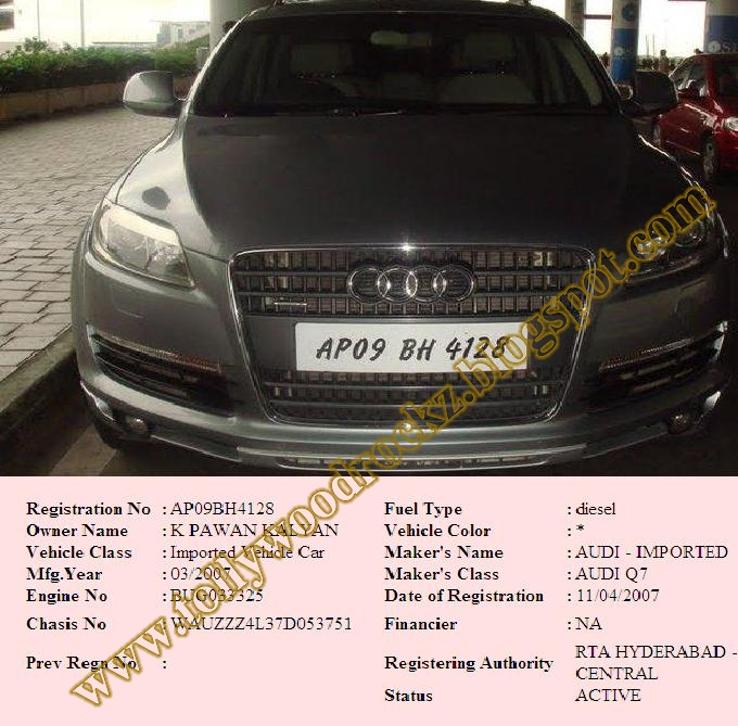All in one: Power star Pavan kalyan Audi car and its ...