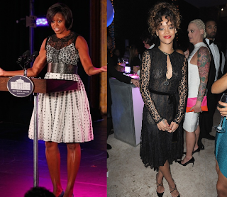 Michelle Obama & Rihanna