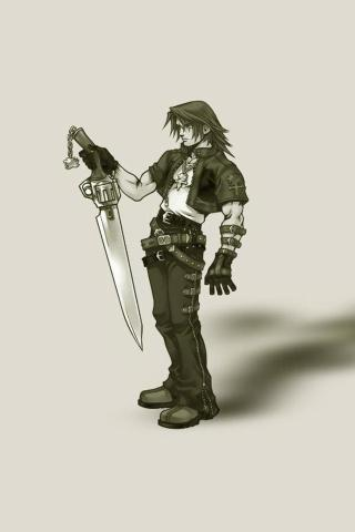 Squall iPhone Wallpaper