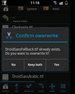Cara Mengatasi Huruf  yang Tidak Terbaca di Android