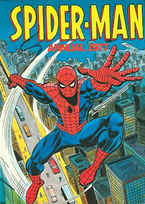 Spider-Man Annual 1977, Marvel UK, hardback
