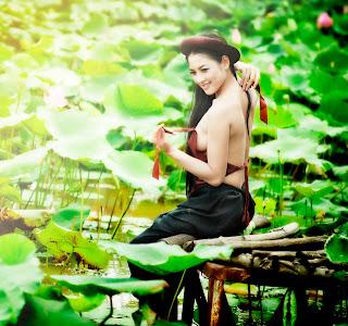 Thai nha van lo nhu hoa 005 Trọn bộ ảnh Thái Nhã Vân lộ nhũ hoa cực đẹp