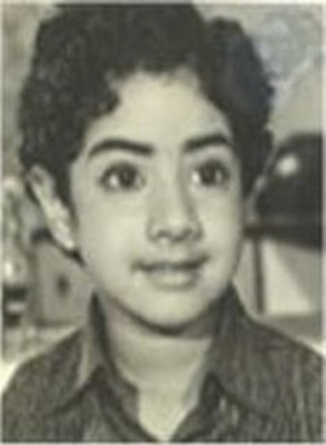 Childhood Photo Of Sridevi