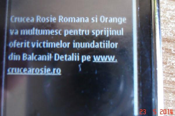 Crucea Rosie ajuta victimele inundatiilor