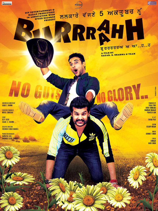 Burrraahh Punjabi movie poster