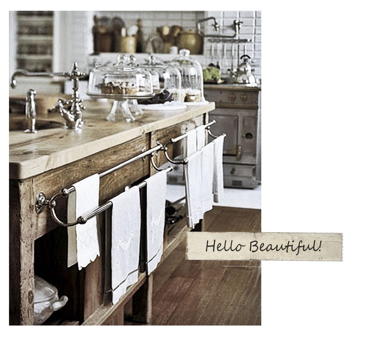 Vintage Glam Kitchen