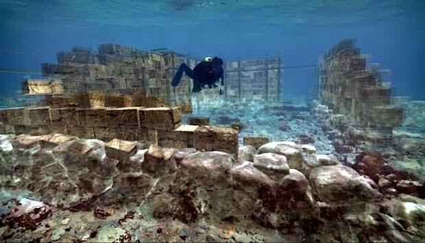 6 Kota Yang Sudah Tenggelam Di Dasar Laut
