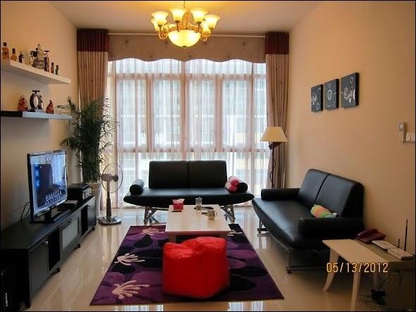 Phòng khách căn hộ The Vista đẹp