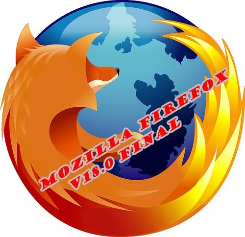 Mozilla Firefox V18.0 Final
