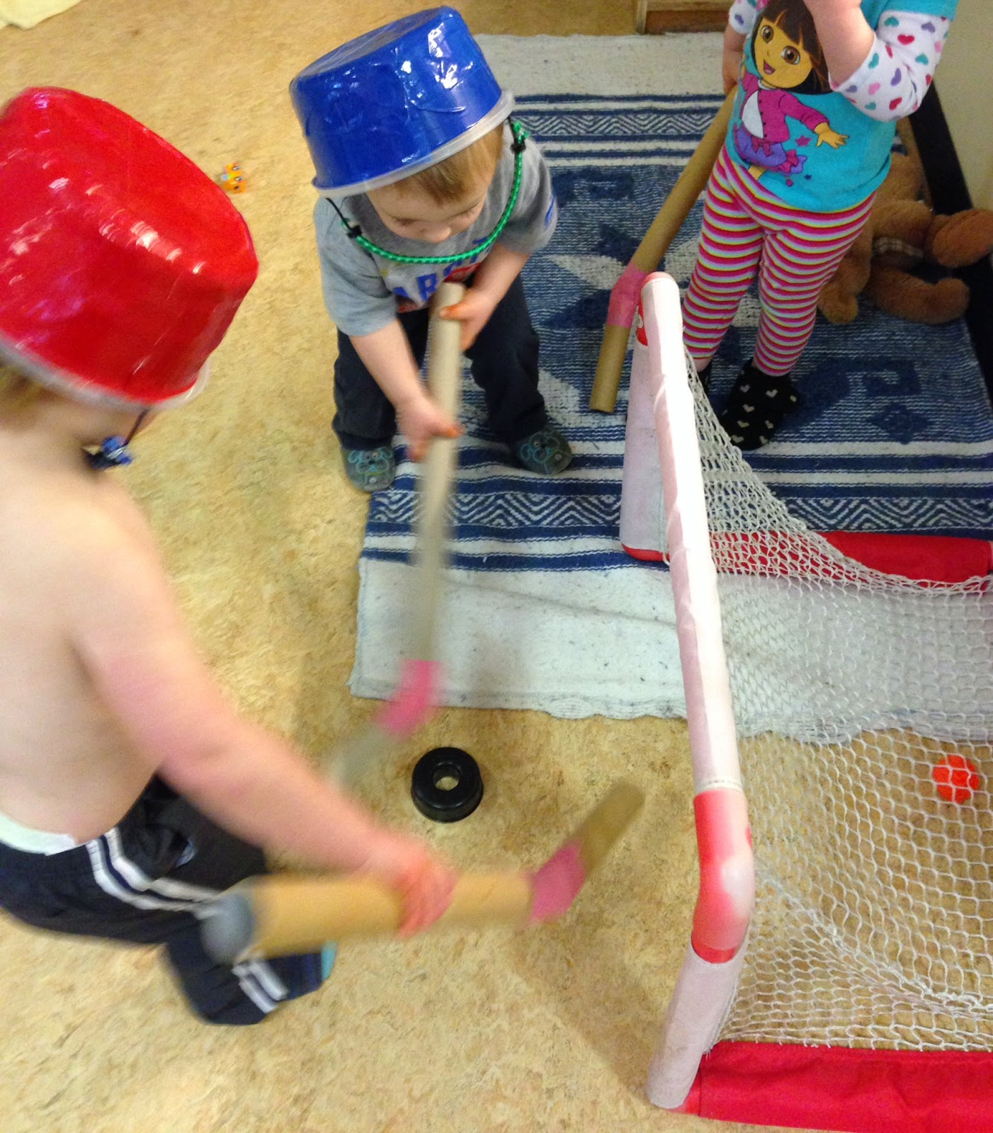 Toddler Hockey.