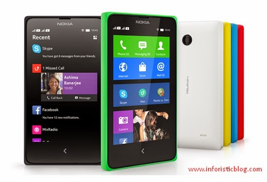 The Nokia X- Android Phone is Now Available in Nigeria: Check Price in Nigeria