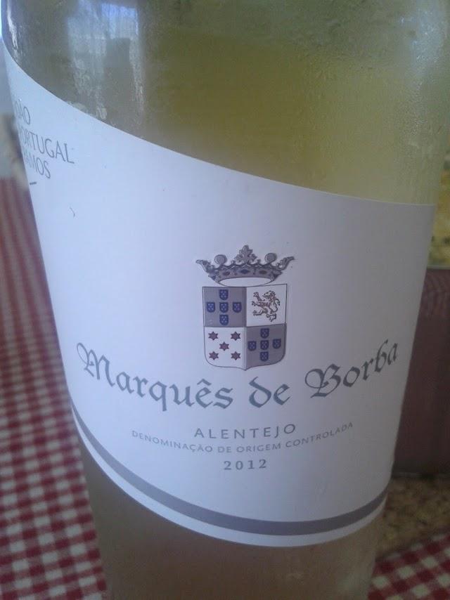 Marquês de Borba Branco 2012 - reservarecomendada.blogspot.pt