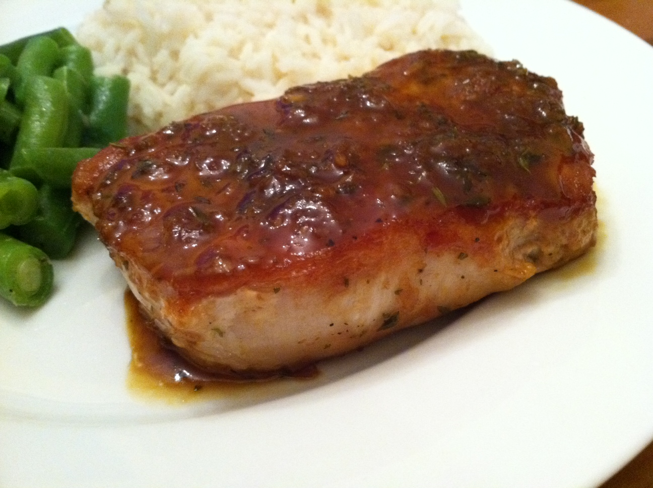 Taste of Home Cooking: Pork Chops with Orange-Soy Sauce