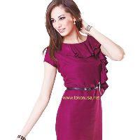 Dress Wanita Pink