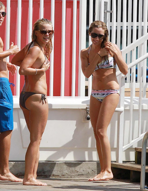 Ashley Tisdale – Bikini Candids in Miami