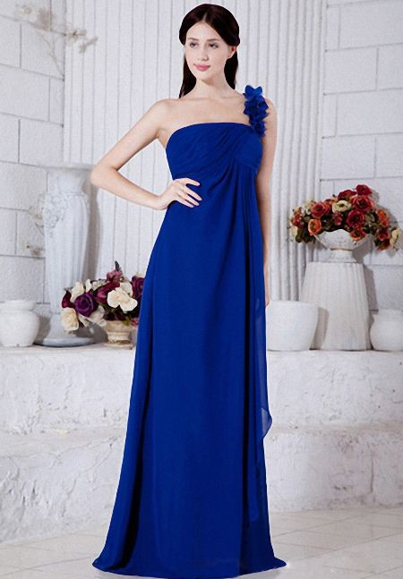 blue bridesmaid dresses for autumn wedding party