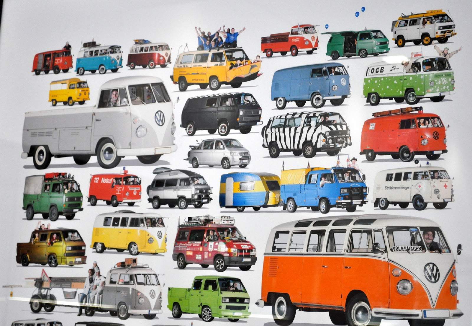 Just A Car Guy Vw Van Poster In The Bob Baker Dealership