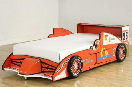 Race Car Themed Bedroom