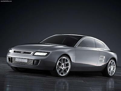 2004 Ford Thunderbird Fab 1 Concept. Ford Visos Concept (2003)