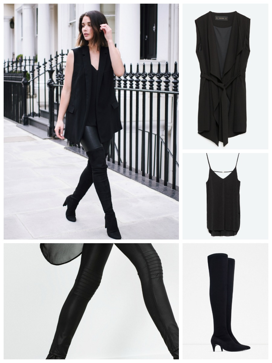 get the look harper&harley littledreamsbyr total black