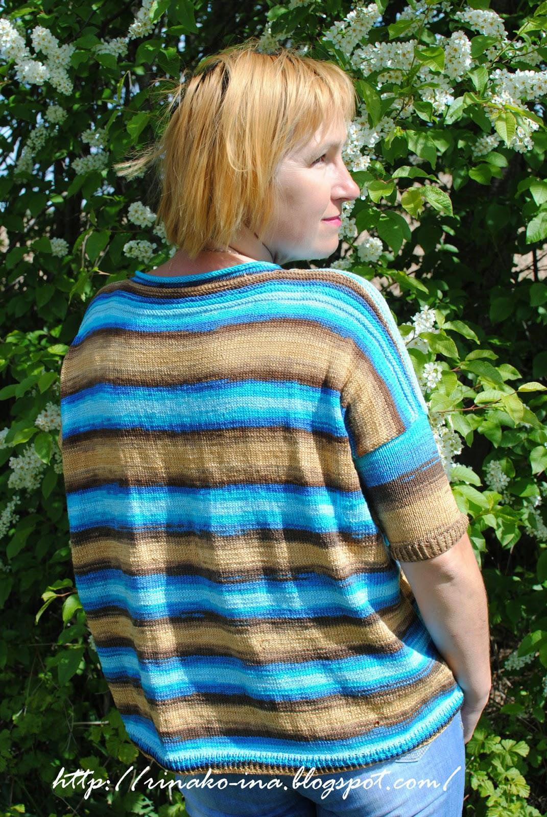 Вязание из пряжи ализ
