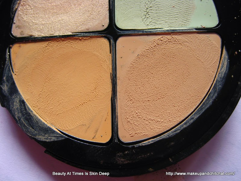 Photos review of Isadora Cosmetics Color Correcting Wheel Anti Redness